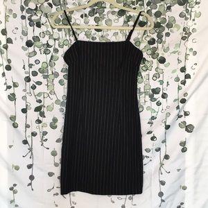 Pin Striped Mini Dress